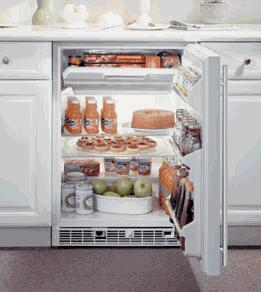 Marvel 61RFBSFL  Built In Counter Depth Compact Refrigerator with 6 cu. ft. Capacity, 2 Glass Shelves