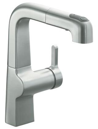 Kohler K-6332- Single Handle Pullout Secondary Faucet from the Evoke Collection:
