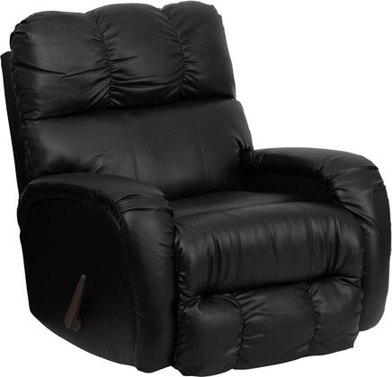 Flash Furniture AM98509072GG Contemporary Bentley Series Contemporary Bonded Leather Wood Frame Rocking Recliners |Appliances Connection