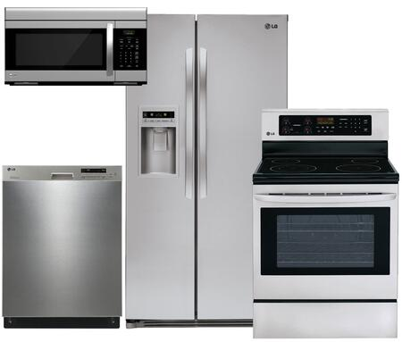 LG LSC27925ST4PCKIT1 Kitchen Appliance Packages