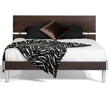 VIG Furniture VGDEB1001WGET Modrest Bravo Series  Twin Size Panel Bed