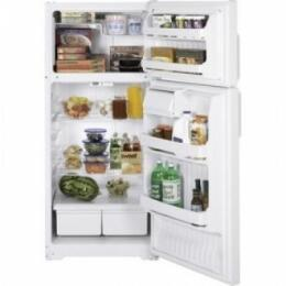 Hotpoint HTS17CBDCC Freestanding Top Freezer Refrigerator with 16.6 cu. ft. Total Capacity