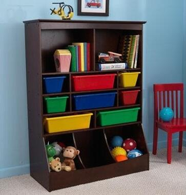 KidKraft 14982 Childrens Wood  Bookcase