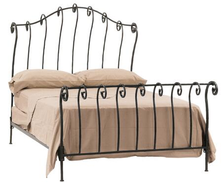 Stone County Ironworks 904104  Full Size Sleigh HB & Frame Bed