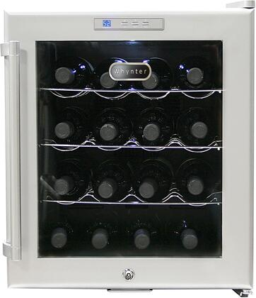 "Whynter WC16S 17.1"" Freestanding Wine Cooler, in Stainless Steel"