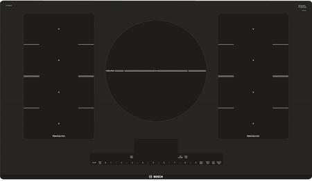 """Bosch Benchmark NITP668XUC 36"""" ADA Compliant Induction Cooktop with 5 Elements, FlexInduction, SpeedBost, PreciseSelect, and Child Lock, in"""
