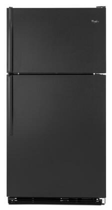 Whirlpool WRT138TFYB  Refrigerator with 18.5 cu. ft. Capacity in Black