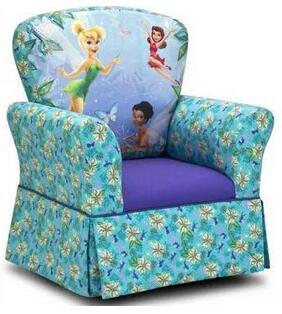Kidz World 19211 Skirted Rocker Padded with Polyurethane Foam and Upholstered in 7 oz. Duck Cloth: