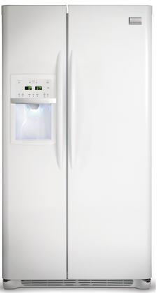 Frigidaire FGHS2367KW Freestanding Side by Side Refrigerator
