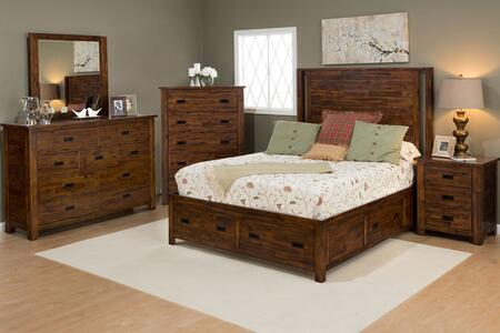 Jofran 1503QPBDMNC Coolidge Corner Queen Bedroom Sets