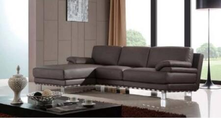 Diamond Sofa QAVELFSECTCH Q-Ave Series  Sofa