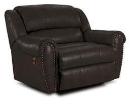 Lane Furniture 21414174597521 Summerlin Series Transitional Leather Wood Frame  Recliners