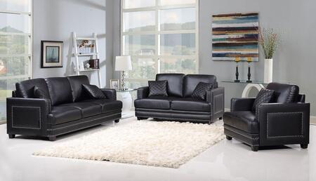 Meridian 655BLSLC Ferrara Living Room Sets