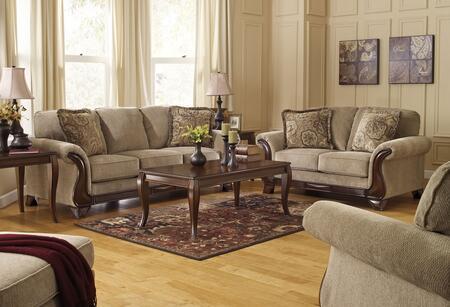 Milo Italia MI7925SET3PCBEI Marcos Living Room Sets
