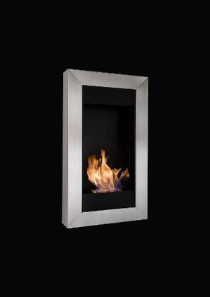 Bio-Blaze BBS24861V Wall Mountable Bioethanol Fireplace