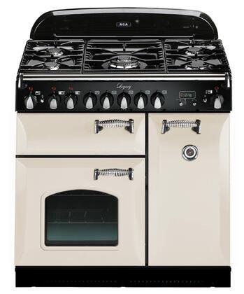 AGA ALEG36DFCDIVY Legacy Series Dual Fuel Freestanding |Appliances Connection