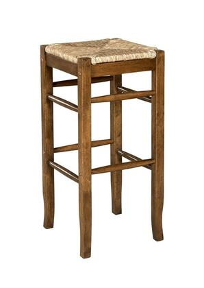 Linon 98199OAK01KD Tulsa Series  Bar Stool