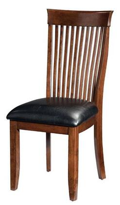 Standard Furniture 10324 Regency Series Traditional Faux Leather Wood Frame Dining Room Chair