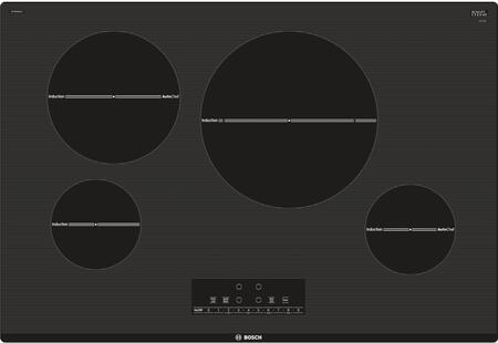 "Bosch NIT8068XUC 30"" 800 Series Induction Cooktop with 4 Elements, AutoChef, Independent Countdown Timer and SpeedBoost, in"