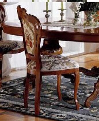 VIG Furniture VGFMREGINASCWAL Regina Series Transitional Fabric Wood Frame Dining Room Chair