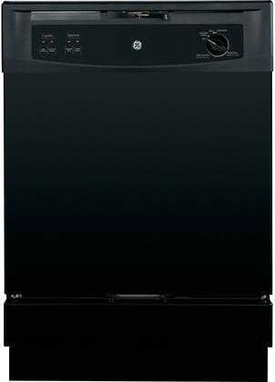 GE GSD2300VBB 2300 Series Built-In Dishwasher with in Black