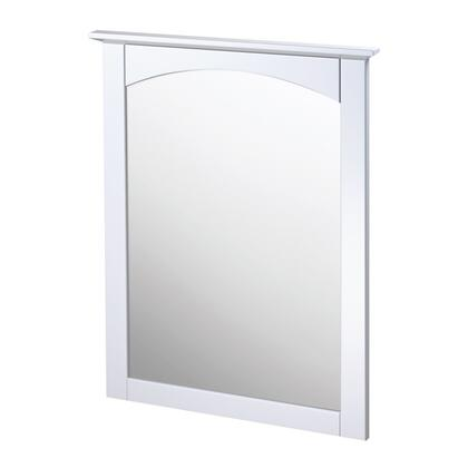 Foremost COWM x Matching Mirror for the Columbia Collection in a White Finish