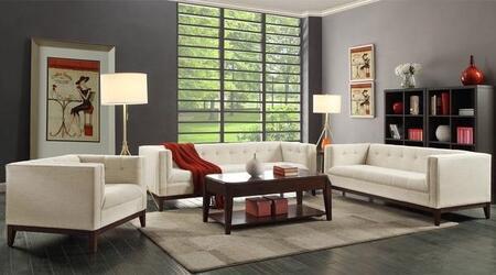EdgeMod EM226WALBEISET Huntington Living Room Sets