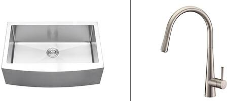 Ruvati RVC2423 Kitchen Sink