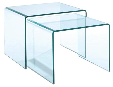 Magnussen T159512 Lumeno Series  Rectangular End Table