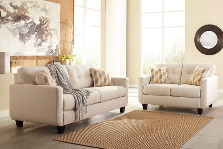 Milo Italia MI8740SLMARB Valeria Living Room Sets