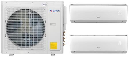 Gree 1032943 28400 BTU Dual-Zone Mini Split System