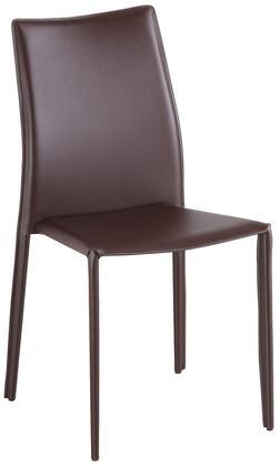 J M Furniture C031B J M Brown Dining Chair (1)