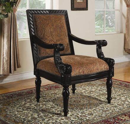 Coaster 900414 Club Fabric Wood Frame Accent Chair