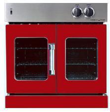 American Range AROFG30LPBR Single Wall Oven, in Red