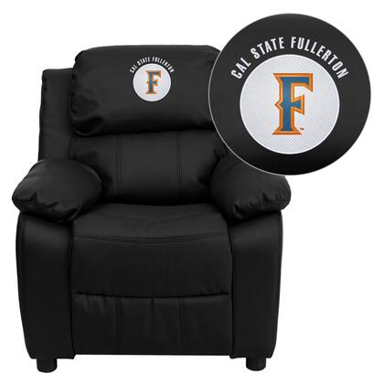 Flash Furniture BT7985KIDBKLEA45004EMBGG Childrens Bonded Leather Wood Frame  Recliners