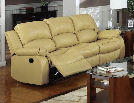 Meridian 644KHS Gramercy Series  Bonded Leather Sofa