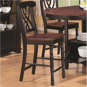 Coaster 102229 Addison Series Casual Wood Frame Dining Room Chair