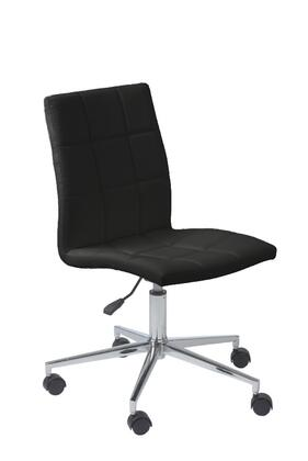 "Euro Style 17181BLK 24.4"" Contemporary Office Chair"