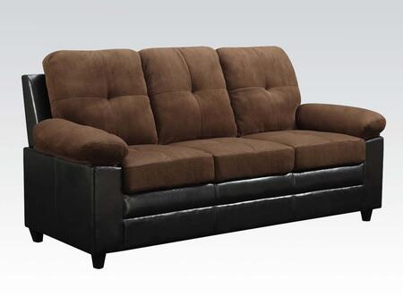 Acme Furniture 51365 Santiana Series  Bycast Leather Sofa
