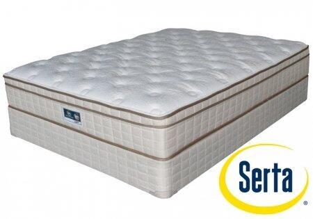 Serta ET540466K Grandbury Series King Size Euro Top Mattress