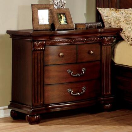 Furniture of America CM7736N Grandom Series  Night Stand