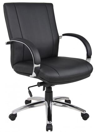 Boss AELE62C Boss Aaria Series Elektra Mid Back Executive Chair
