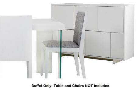 Buffet ONLY. Table and Chairs NOT Included.