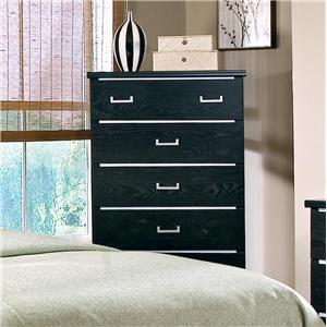 Standard Furniture 51005 Espresso Series Wood Chest
