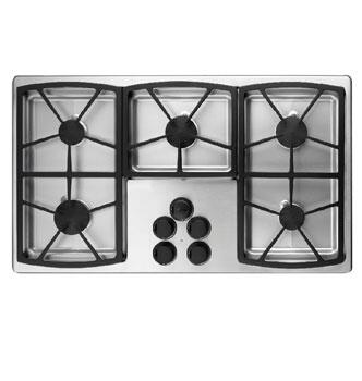 Dacor SGM365SLP Classic Series Liquid Propane Sealed Burner Style Cooktop