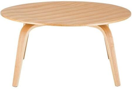 EdgeMod EM185NAT Natural Mid-Century Table