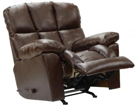 Catnapper 45492121509301509 Griffey Series Transitional Bonded Leather Metal Frame  Recliners