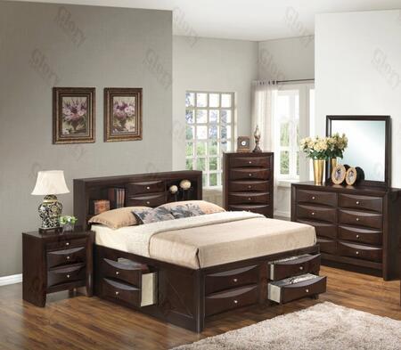 Glory Furniture G1525GTSB3DMN G1525 Twin Bedroom Sets