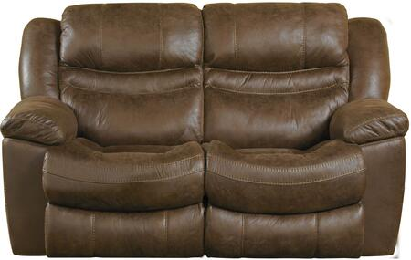 """Catnapper Valiant Collection 1402-2- 66"""" Reclining Loveseat with Faux Leather Upholstery, Steel Seat Box Construction and Pillow Top Arms in"""