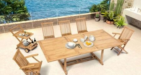 Zuo 703552KIT2 Regatta Dining Room Sets